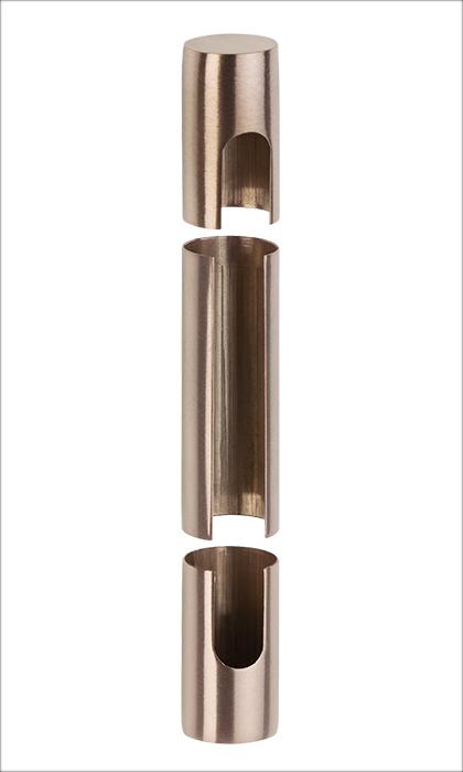 Sühac Übersteckhülsen 3-tlg. PVD Bronze
