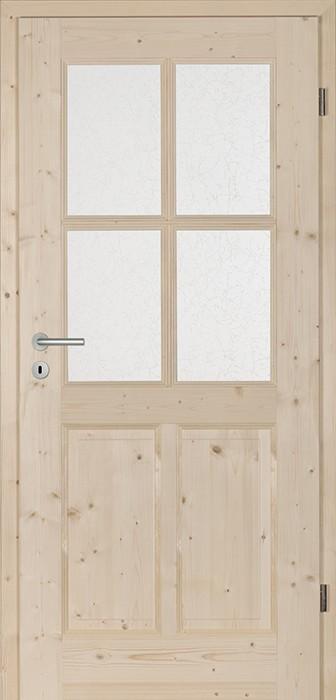 <b>CASTELL 4CA-LA4_4</b><br>Fichte astig roh ungebürstet<br>Glas Window