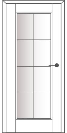 Sühac Avantgarde Etage Ausführung E1-Lichtausschnitt-Sprossen