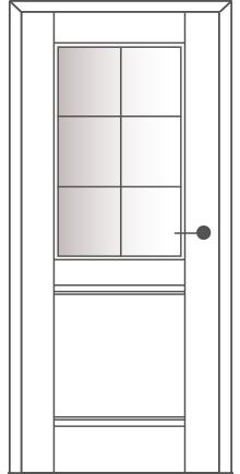 Sühac Avantgarde Etage Ausführung E2-Lichtausschnitt-Sprossen