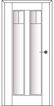 Sühac Avantgarde Etage Ausführung E4-Lichtausschnitt-Sprossen