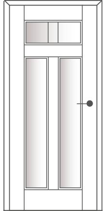 Sühac Avantgarde Etage Ausführung E5.3-Lichtausschnit-Sprossen