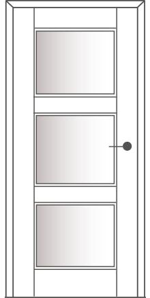 Sühac Avantgarde Etage Ausführung E6-Lichtausschnitt