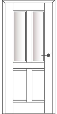 Sühac Avantgarde Etage Ausführung E7-Lichtausschnitt