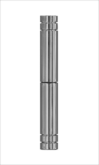 <b>Flachkopf 2-teilig</b><br>Chrom-Optik