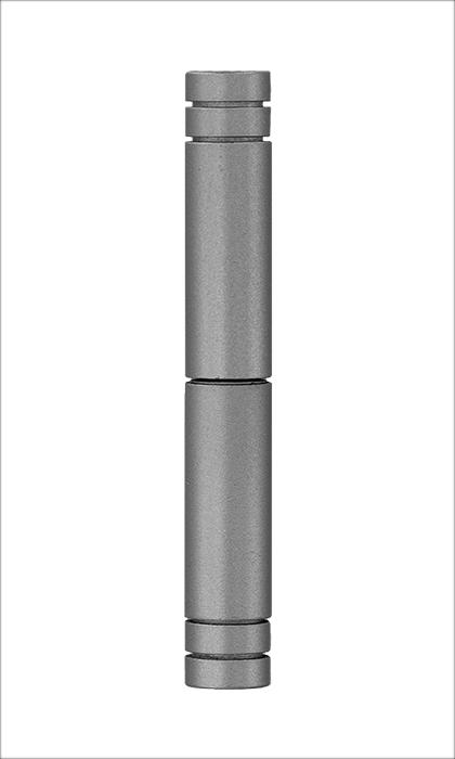 <b>Flachkopf 2-teilig</b><br>Edelstahl-Optik