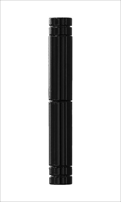 <b>Flachkopf 2-teilig</b><br>schwarz glänzend