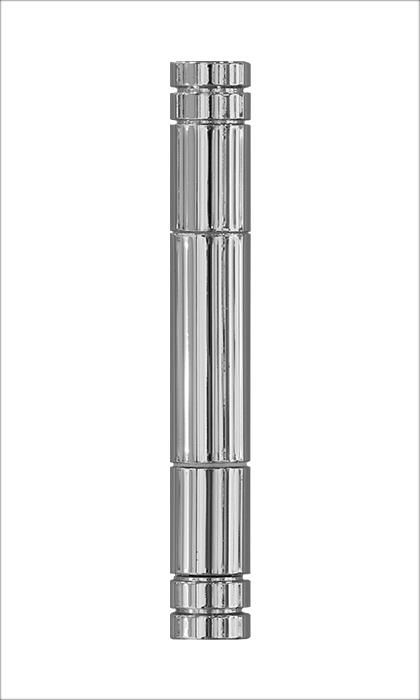 <b>Flachkopf 3-teilig</b><br>Chrom-Optik