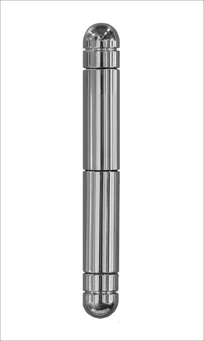 <b>Rundkopf 2-teilig</b><br>Chrom-Optik