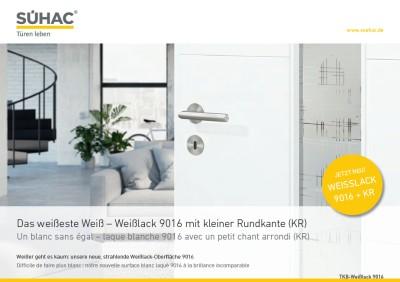 SÜHAC Weisslack 9016