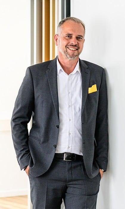 Geschäftsführer Herr Harald Reichel